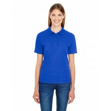 035P Ladies' 6.5 oz. X-Temp® Piqué Short-Sleeve Polo with Fresh IQ - Hanes Women Polo Shirts