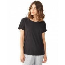 Ladies' Rocker Garment-Dyed Distressed T-Shirt