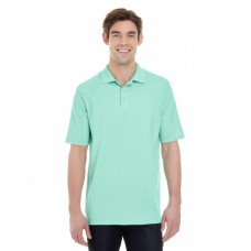 055P Men's 6.5 oz. X-Temp® Piqué Short-Sleeve Polo with Fresh IQ - Hanes Mens Polo Shirts