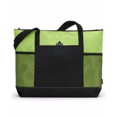 1100 Select Zippered Tote - Gemline Tote Bags