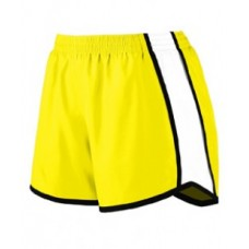 1265 Ladies' Pulse Team Short - Augusta Sportswear Womens Shorts