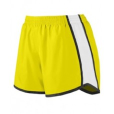 1266 Girls' Pulse Team Short - Augusta Drop Ship Girls Shorts