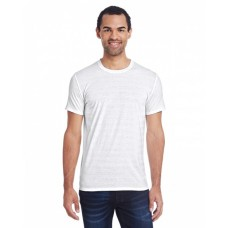 152A Men's Invisible Stripe Short-Sleeve T-Shirt - Threadfast Apparel Mens T Shirts