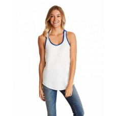 1534 Ladies' Ideal Colorblock Racerback Tank - Next Level Womens T Shirts