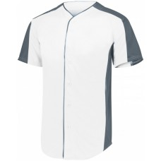 1656 Youth Full-Button Baseball Jersey - Augusta Sportswear Jersey T Shirts
