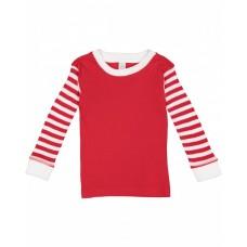201Z Toddler Long-Sleeve Pajama Top - Rabbit Skins Baby Shirts