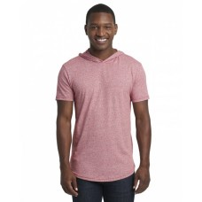 2022 Unisex Mock Twist Short Sleeve Hoody T-Shirt - Next Level T Shirts