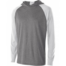 222639 Youth Dry-Excel™ Echo Training Hooded T-Shirt - Holloway Hooded T Shirts