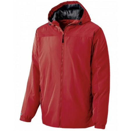 229017 Adult Polyester Full Zip Bionic Hooded Jacket - Holloway Jackets