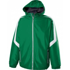 229059 Adult Polyester Full Zip Charger Jacket - Holloway Jackets