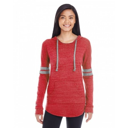 229390 Ladies' Hooded Low Key Pullover - Holloway Womens T Shirts