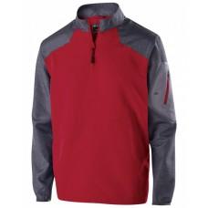 229655 Youth Ultra-Lightweight Aero-Tec™ Raider Warm-Up Pullover - Holloway Pullover Shirts