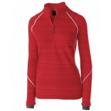 229741 Ladies' Dry-Excel™ Bonded Polyester Deviate Pullover - Holloway Pullover Shirts