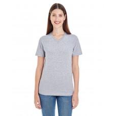Ladies' Fine Jersey Short-Sleeve Classic V-Neck