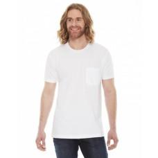 Unisex Fine Jersey Pocket Short-Sleeve T-Shirt