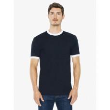 Unisex Fine Jersey Ringer T-Shirt