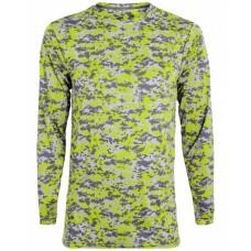 2788 Adult Digi Camo Wicking Long-Sleeve T-Shirt - Augusta Drop Ship Camo T Shirts