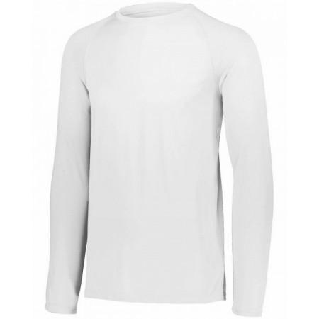 2796 Youth Attain Wicking Long-Sleeve T-Shirt - Augusta Drop Ship T Shirts