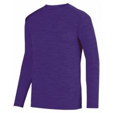 2903 Adult Shadow TonalHeather Long-Sleeve Training T-Shirt - Augusta Drop Ship T Shirts