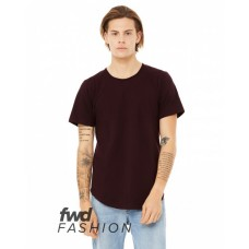 3003C FWD Fashion Men's Curved Hem Short Sleeve T-Shirt - Bella + Canvas Mens T Shirts