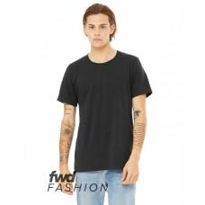 3011C FWD Fashion Men's Split Hem T-Shirt - Bella + Canvas Mens T Shirts