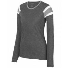 3012 Ladies' Fanatic Long-Sleeve T-Shirt - Augusta Drop Ship Womens T Shirts
