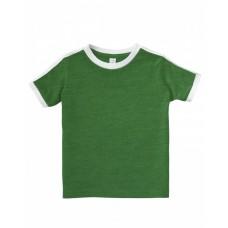 3032 Toddler Retro Ringer T-Shirt - Rabbit Skins Baby T Shirts