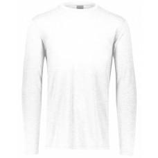 3076 Youth 3.8 oz., Tri-Blend Long Sleeve T-Shirt - Augusta Sportswear Tri Blend T Shirts