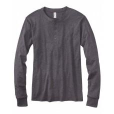 3150 Men's Jersey Long-Sleeve Henley - Bella + Canvas Mens T Shirts