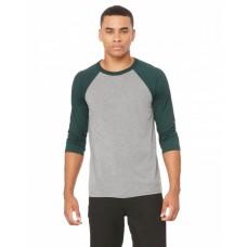 3200 Unisex 3/4-Sleeve Baseball T-Shirt - Bella + Canvas Baseball T Shirts