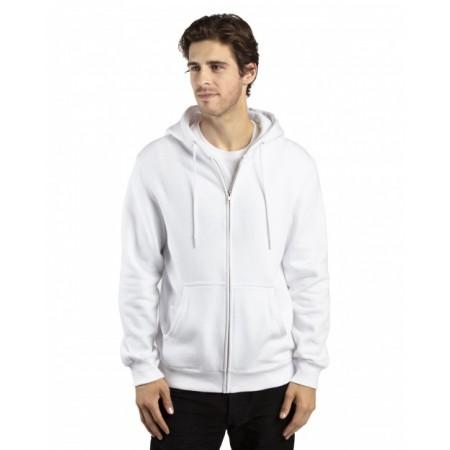 320Z Unisex Ultimate Fleece Full-Zip Hooded Sweatshirt - Threadfast Apparel Hooded Sweatshirts