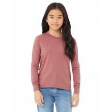 3501Y Youth Jersey Long-Sleeve T-Shirt - Bella + Canvas Jersey T Shirts