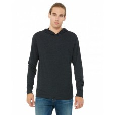 3512 Unisex Jersey Long-Sleeve Hoodie - Bella + Canvas Jersey T Shirts