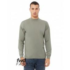 3520C FWD Fashion Unisex Mock Neck Long Sleeve T-Shirt - Bella + Canvas T Shirts