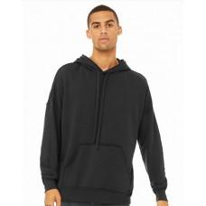 3742C FWD Fashion Unisex Raw Seam Hooded Sweatshirt - Bella + Canvas Hooded Sweatshirts