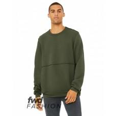 3743 FWD Fashion Unisex Raw Seam Crewneck Pullover - Bella + Canvas Pullover Sweatshirts