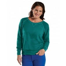 3762 Ladies' French Terry Slouchy Pullover - LAT Terry Sweatshirts