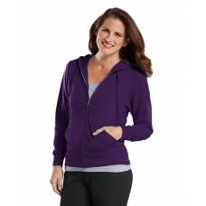3763 Ladies' Zip French Terry Hoodie - LAT Hoodies Sweatshirts
