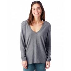 Ladies Deep V-Neck T-Shirt