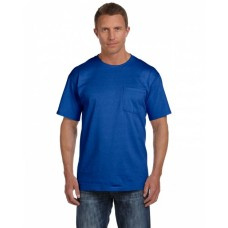 3931P Adult HD Cotton™ Pocket T-Shirt - Fruit of the Loom Cotton T Shirts