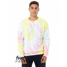3945RD FWD Fashion Unisex Tie-Dye Pullover Sweatshirt - Bella + Canvas Pullover Sweatshirts