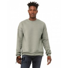 3946 FWD Fashion Unisex Crew Neck Side Zipper Sweatshirt - Bella + Canvas Crewneck Sweatshirts