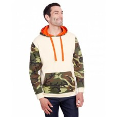 3967 Men's Fashion Camo Hooded Sweatshirt - Code Five Hooded Sweatshirts