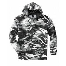 3969 Unisex Camo Pullover Hoodie - Code Five Hoodies Sweatshirts