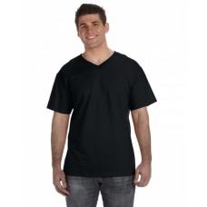 39VR Adult 5 oz. HD Cotton™ V-Neck T-Shirt - Fruit of the Loom Cotton T Shirts