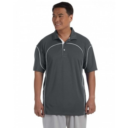 434CFM Men's Team Prestige Polo - Russell Athletic Mens Polo Shirts