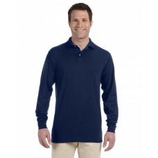 437ML Adult SpotShield™ Long-Sleeve Jersey Polo - Jerzees Polo Shirts