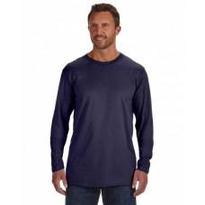 Hanes 498L Tees - Adult 4.5 oz., 100% Ringspun Cotton nano-T® Long-Sleeve T-Shirt