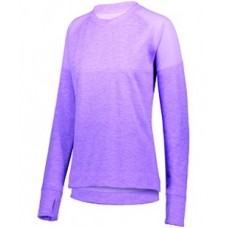 5575 Ladies' Zoe Tonal Heather Pullover - Augusta Sportswear Pullover Sweatshirts