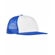 6005FW Foam Trucker with White Front Snapback - Yupoong Snapback Caps